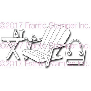 Frantic Stamper - Adirondack Beach Chair & Accessories