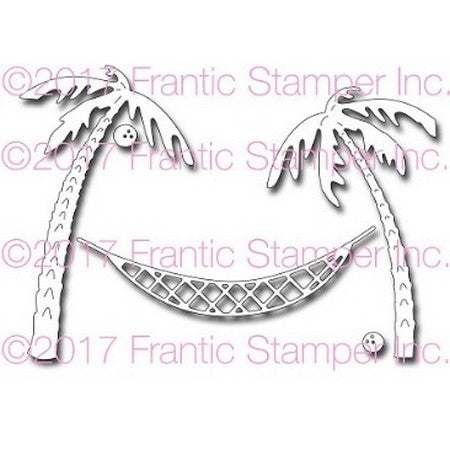 Frantic Stamper - Hammock and Palm Trees