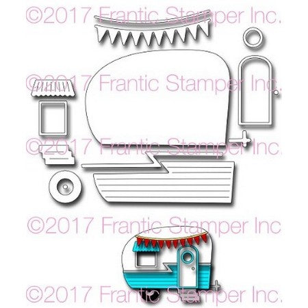 Frantic Stamper - Happy Camper