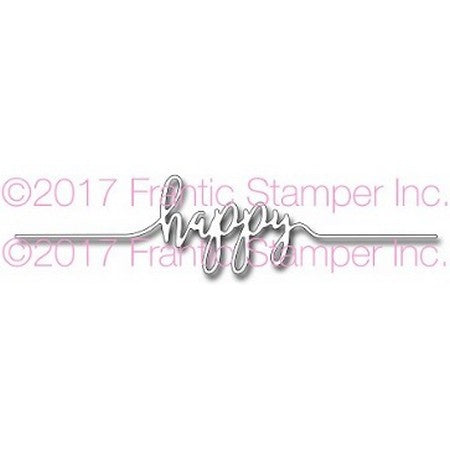 Frantic Stamper - Happy Line