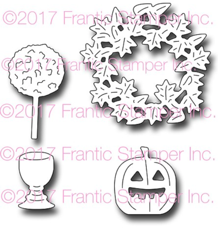 Frantic Stamper - Autumn Door Accents