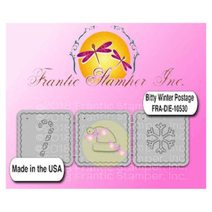 Frantic Stamper - Bitty Winter Postage