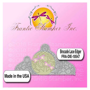 Frantic Stamper - Brocade Lace Edger