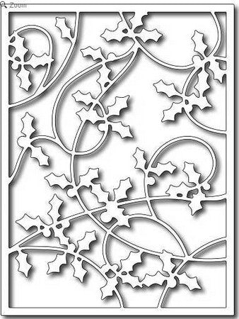 Frantic Stamper - Holly Card Panel