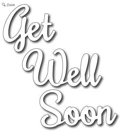 Frantic Stamper - Get Well Soon
