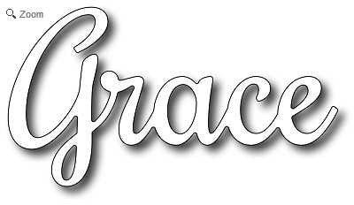 Frantic Stamper - Grace