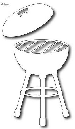 Frantic Stamper - Barbecue Grill