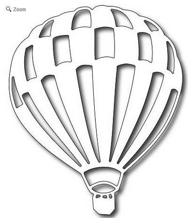 Frantic Stamper - Hot Air Balloon