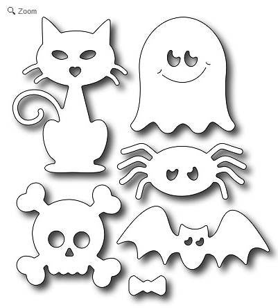 Frantic Stamper - Cute Halloween Icons
