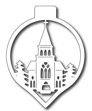 Frantic Stamper - Church Ornament