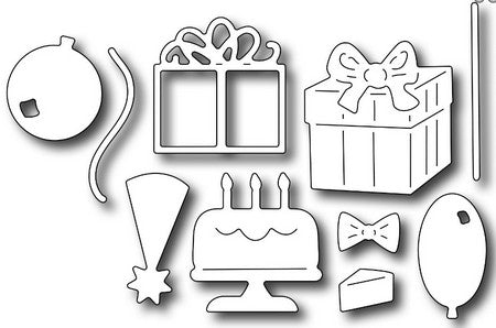 Frantic Stamper - Birthday Icons
