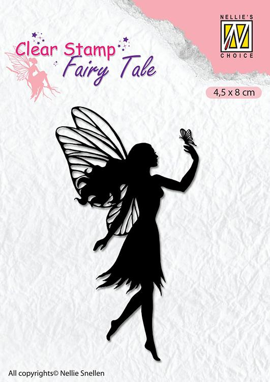 Nellie's Choice - Clear Stamp - Fairy Tale 8