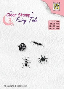 Nellie's Choice - Clear Stamp - Fairy Tale Insects