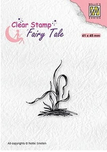 Nellie's Choice - Clear Stamp - Fairy Tale Grass