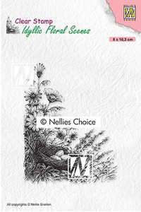 Nellie's Choice Stamps - Idyllic Bird's Nest