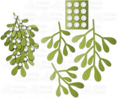 Dee's Distinctively - Mistletoe Large