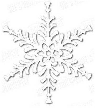 Dee's Distinctively - Festive Snowflake