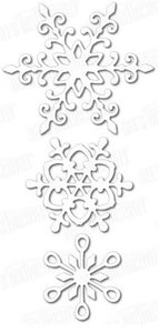 Dee's Distinctively - Snowflake Set 1