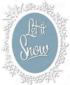 Dee's Distinctively - Let It Snow Frame