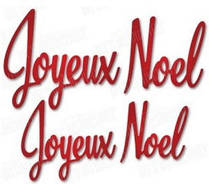 Dee's Distinctively - Joyeux Noel Lg & Sm