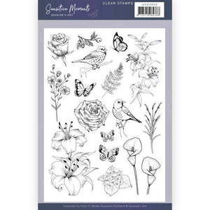 Jeanine's Art - Clear Stamp Set - Sensitive Moments