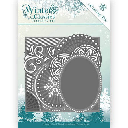 Jeanine's Art - Winter Classics - Curly Frame