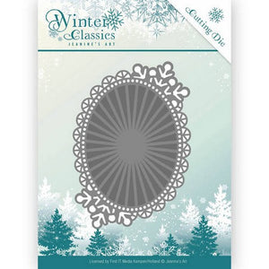Jeanine's Art - Winter Classics - Mirror Oval