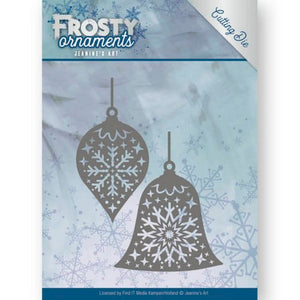 Jeanine's Art - Frosty Ornaments - Christmas Baubles