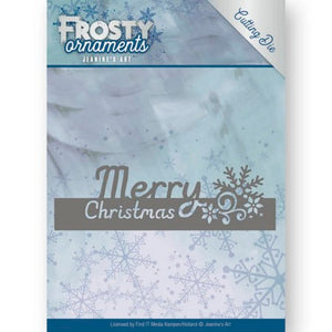 Jeanine's Art - Frosty Ornaments - Merry Christmas