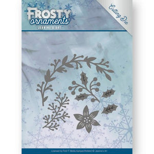 Jeanine's Art - Frosty Ornaments - Christmas Branches
