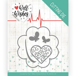 Jeanine's Art - Dies - Well Wishes - Lucky Clover