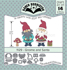 Karen Burniston - Dies - Gnome & Santa (Ships August 7)