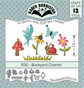 Karen Burniston - Dies - Backyard Charms (Ships August 7)