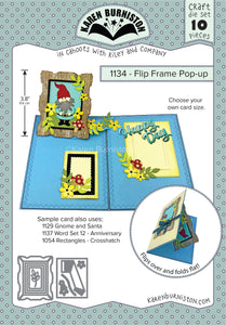 Karen Burniston - Dies - Flip Frame Pop-Up (Ships August 7)