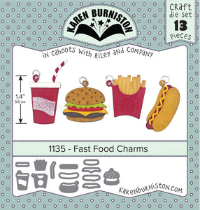 Karen Burniston - Dies - Fast Food Charms (Ships August 7)