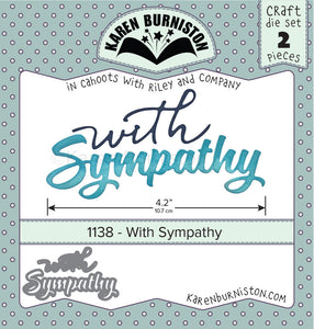 Karen Burniston - Dies - With Sympathy (Ships August 7)