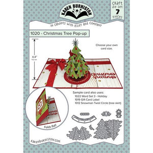 Karen Burniston - Christmas Tree Pop-Up