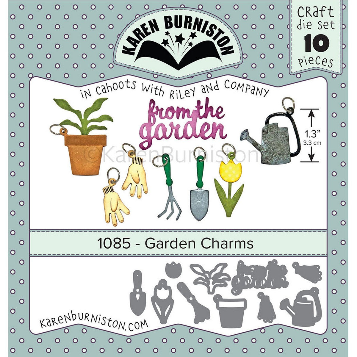 Karen Burniston - Garden Charms