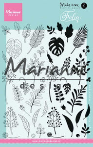Marianne Design - Clear Stamps - Folia