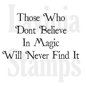 Lavinia Stamps - Believe in Magic (LAV344)