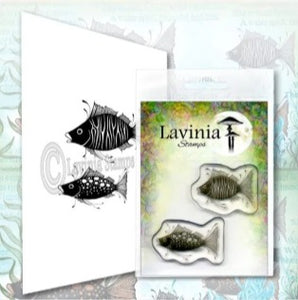 * Pre-Order * Lavinia Stamps - Fish Set  (ships mid-July)