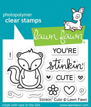 Lawn Fawn - Stinkin' Cute Stamps