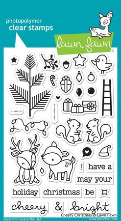 Lawn Fawn - Cheery Christmas Stamps