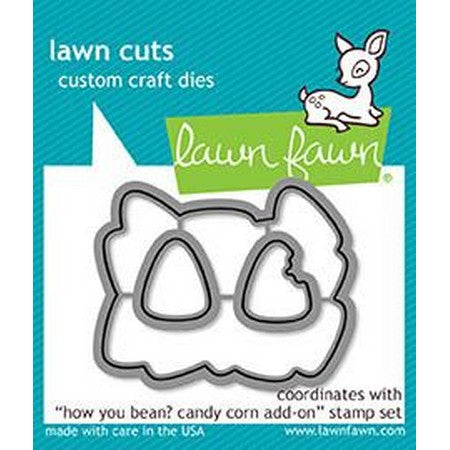 Lawn Fawn - How You Been? Candy Corn Add-On Dies