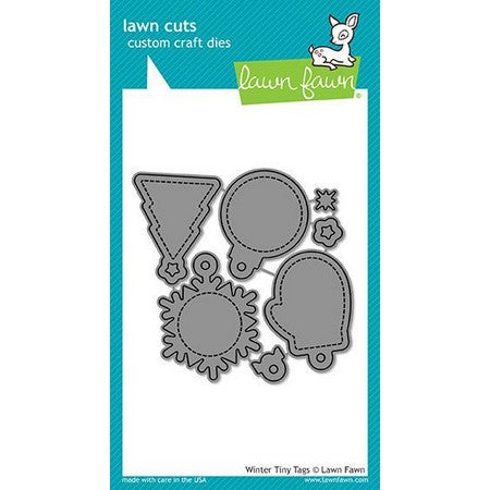 Lawn Fawn - Winter Tiny Tags Dies