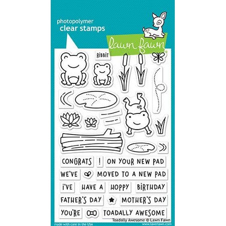 Lawn Fawn - Toadally Awesome Stamps