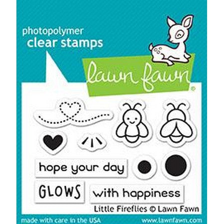 Lawn Fawn - Little Fireflies Stamps