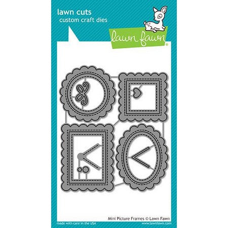 Lawn Fawn - Mini Picture Frames Dies
