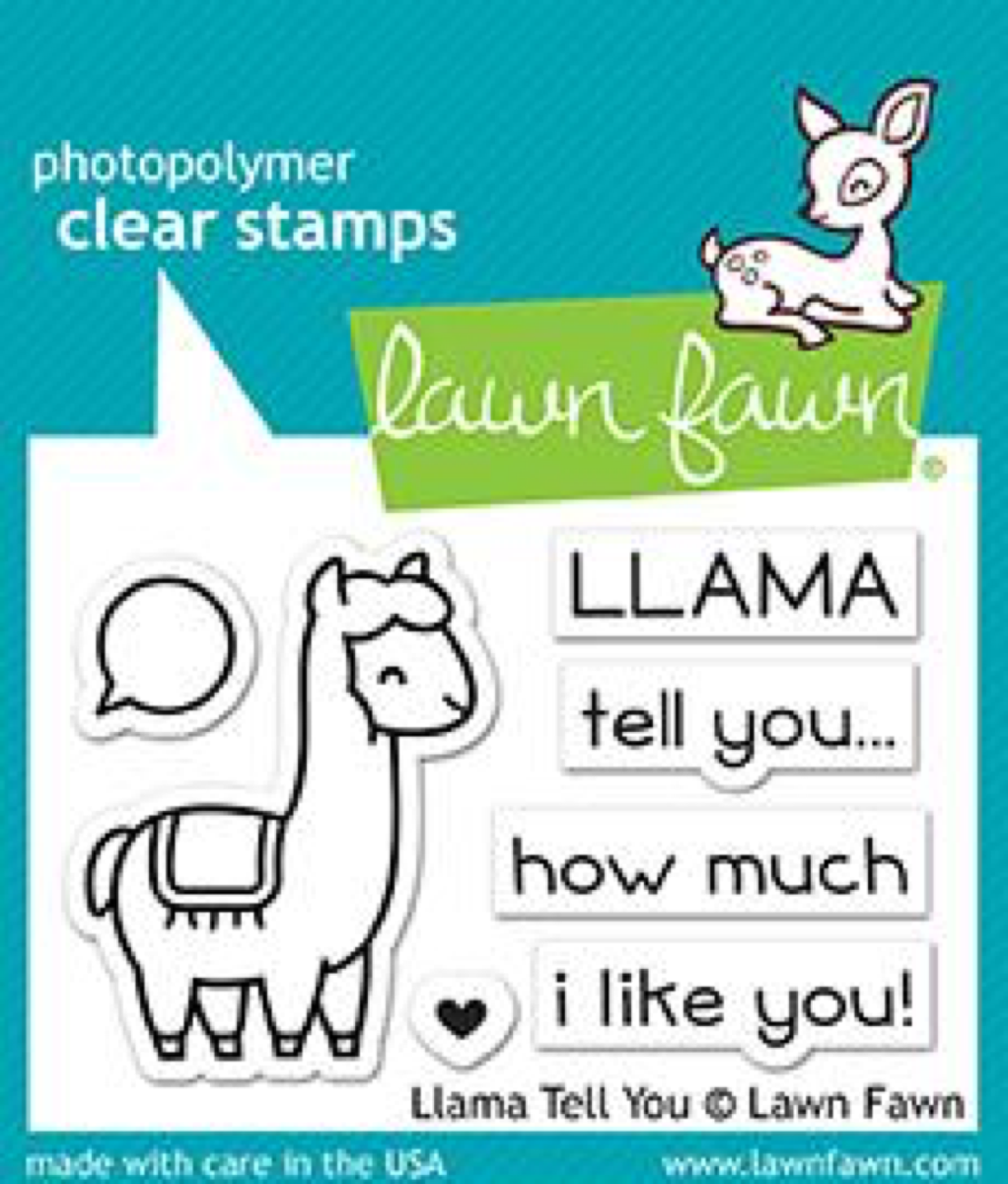 Lawn Fawn - Llama Tell You Stamps