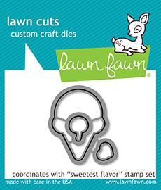 Lawn Fawn - Sweetest Flavor Dies